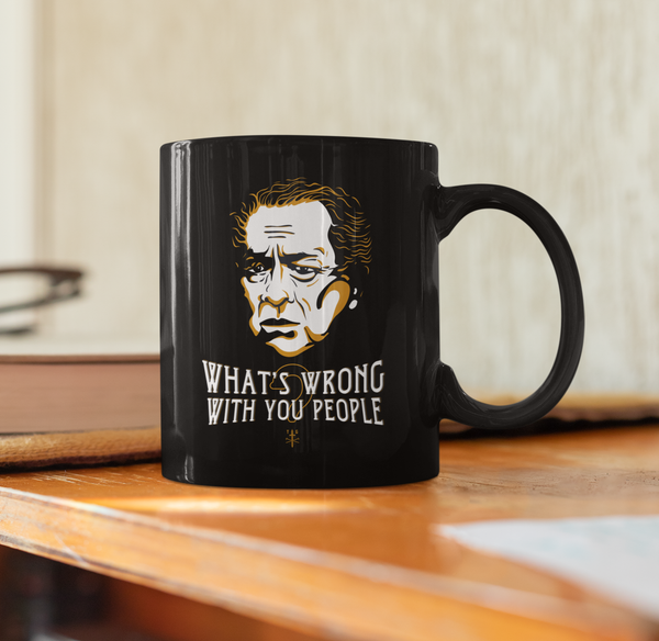 What's Wrong With You People - RC Sproul | 15oz Black Mug