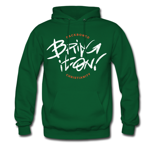 Bring it on! | Men's Hoodie - forest green