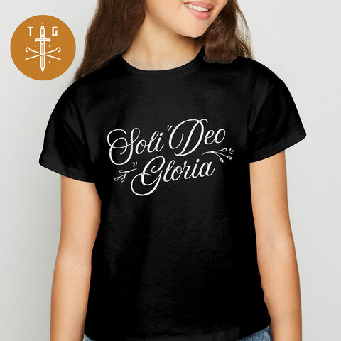 Soli Deo Gloria | Youth Dark T-Shirt