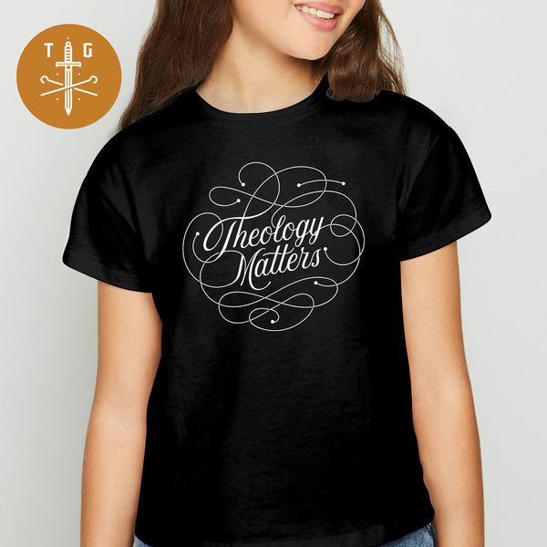 Theology Matters | Youth Dark T-Shirt