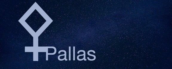 The asteroid goddesses: Pallas (the tomboy)