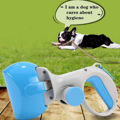 BLUEKIEE™ 2 In 1 Pick Up Holder Outdoor Waste Cleaning Tools with 1 Roll Poop Bags Pet Pooper Scooper Pet Accessories