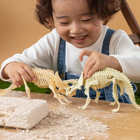 BLUEKIEE™ Puzzle toys children's new archaeological dinosaur fossils excavation of Jurassic Tyrannosaurus Rex skeleton birthday gifts