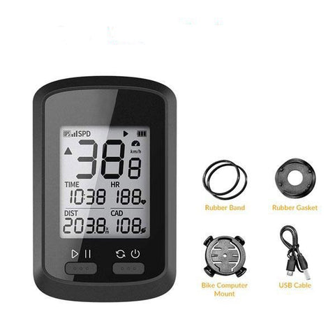 BLUEKIEE™ Bike Computer | Wireless GPS Cycling Computers | GPS Speedometer | Waterproof Road Bike MTB Bicycle Computers | Bluetooth ANT Cadence Cycling Computers