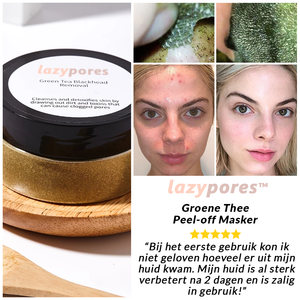 Lazypores™ Groene Thee Peel-off Masker
