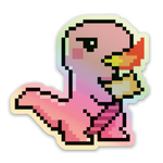 Load image into Gallery viewer, Dino T-(re)X Sticker