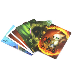 Board Game deck 1+2+3+4+5+6+7+8 Wooden Bunny
