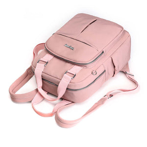 Leather Backpack Women Large Capacity