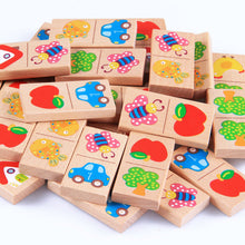 Load image into Gallery viewer, Wooden Blocks Educational Matching
