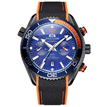 Load image into Gallery viewer, Sport Watch  Style Orange Blue Multifunction