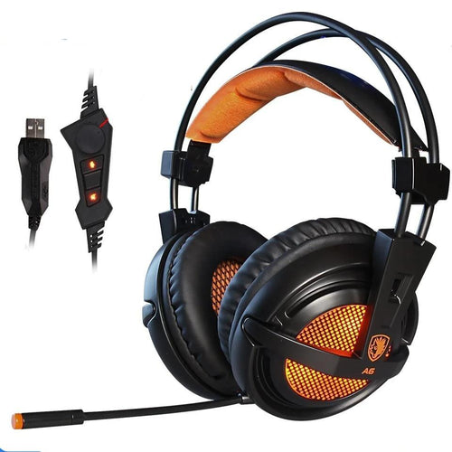 Headphones Game with mic Voice control