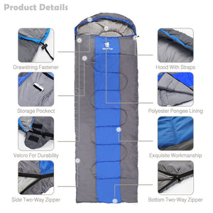 Sleeping Bag Winter Tourism for Adult