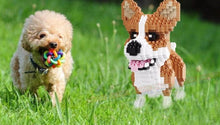 Load image into Gallery viewer, Toy Poodle Dog Plastic Building