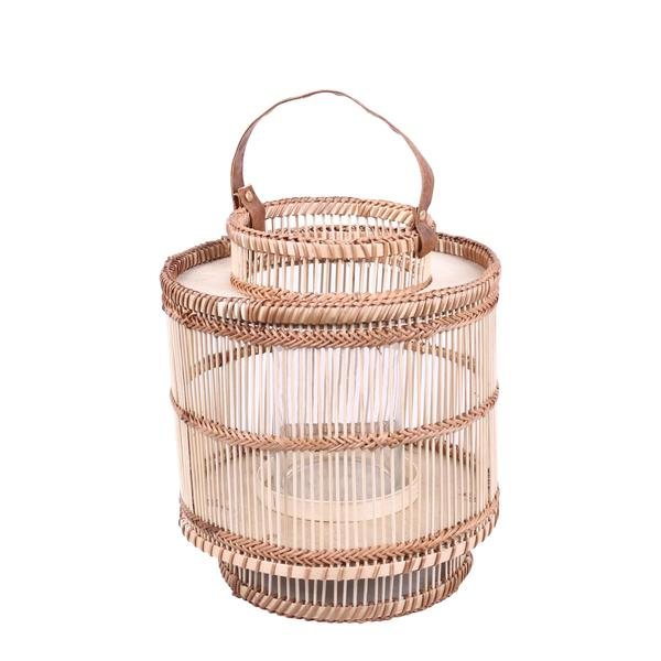 Ira Bamboo Lantern Natural Small