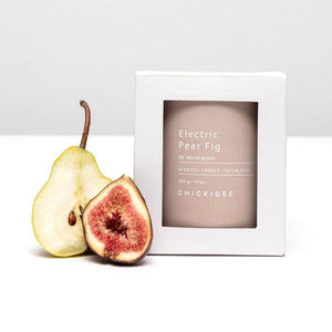 Electric Pear Fig Concrete Candle