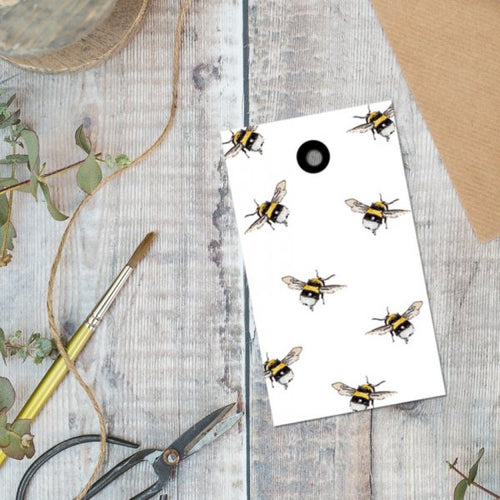 Small Bee Gift Tag