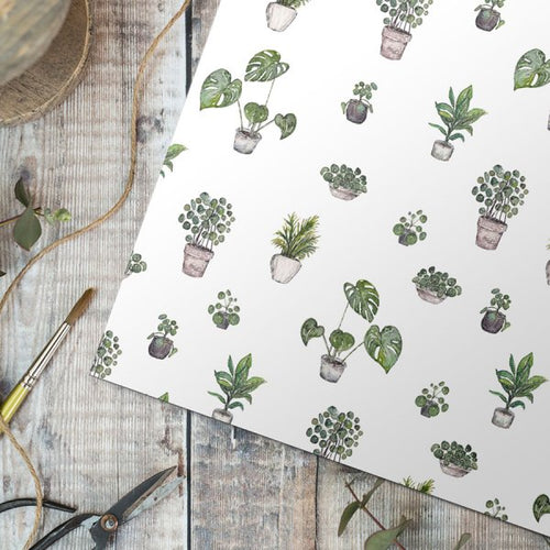 Greenery Gift Wrap - Single Sheet