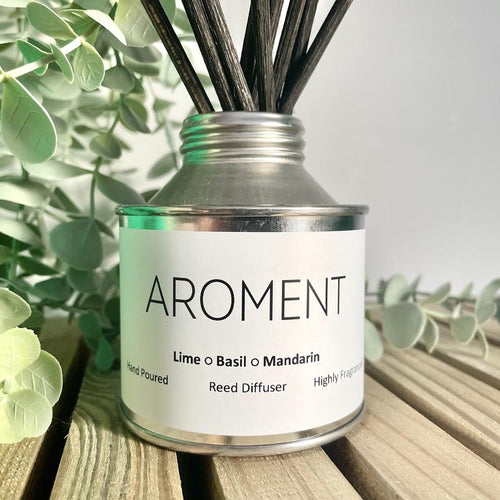 LIME, BASIL & MANDARIN HIGHLY FRAGRANCED REED DIFFUSER