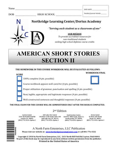 American Short Stories, Section II