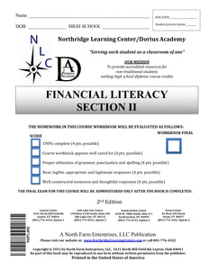 Financial Literacy, Section II