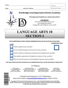 Language Arts 10, Section I