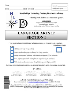 Language Arts 12, Section 1