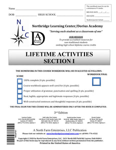 Lifetime Activities, Section I