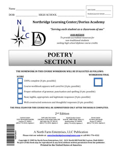 Poetry, Section I