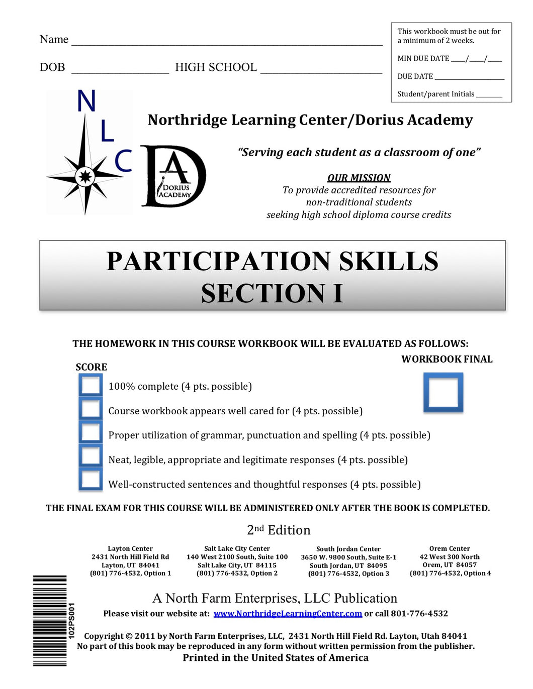 Participation Skills, Section I