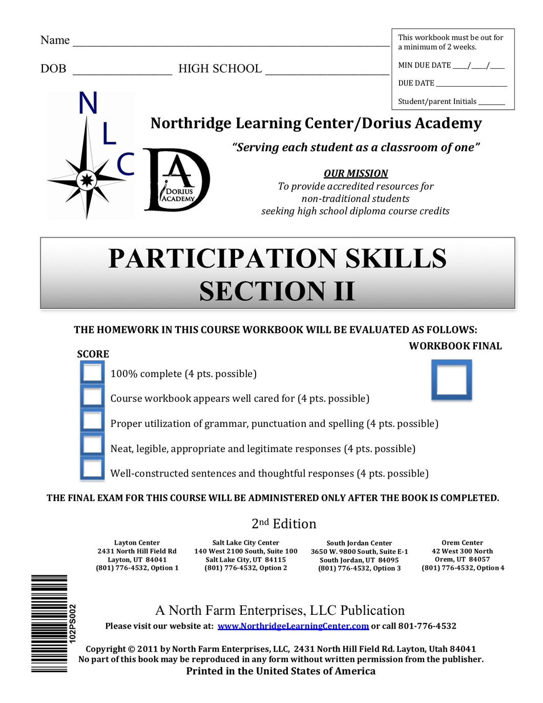 Participation Skills, Section II