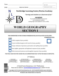World Geography, Section I