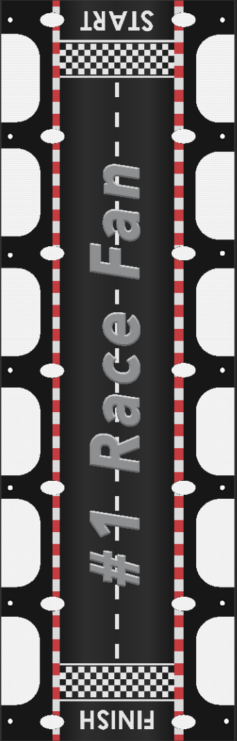 Racing RV Ladder Banner