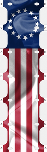 Betsy Ross RV Banner Ladder