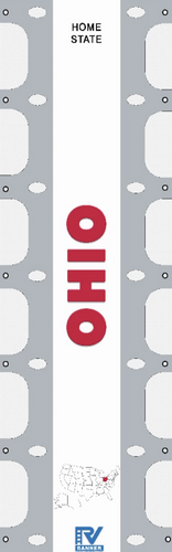 Ohio State RV Ladder Banner