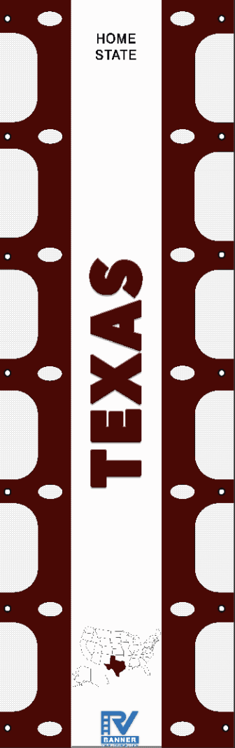 Texas RV Ladder Banner
