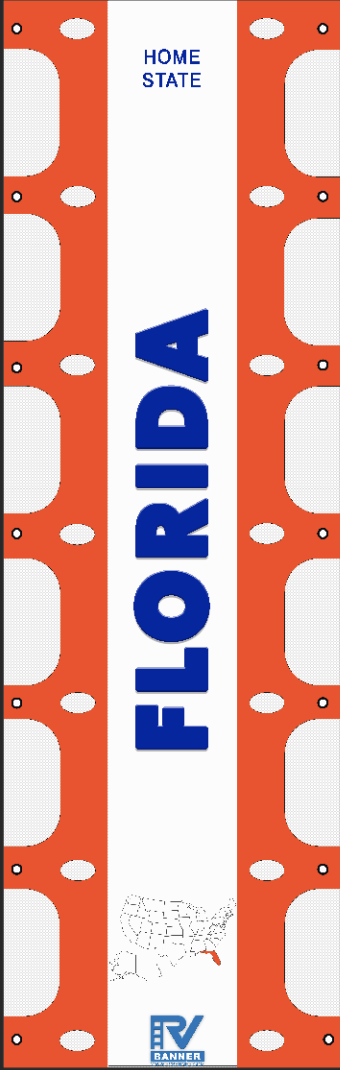 Florida RV Ladder Banner