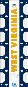 West Virginia RV Ladder Banner