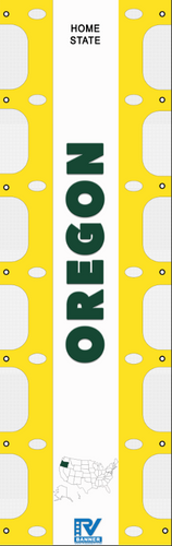 Oregon RV Ladder Banner