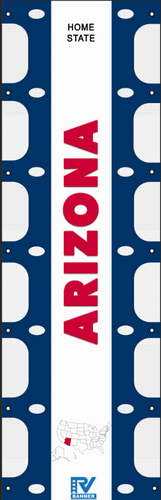 Arizona RV Ladder Banner
