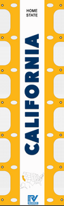 California RV Ladder Banner