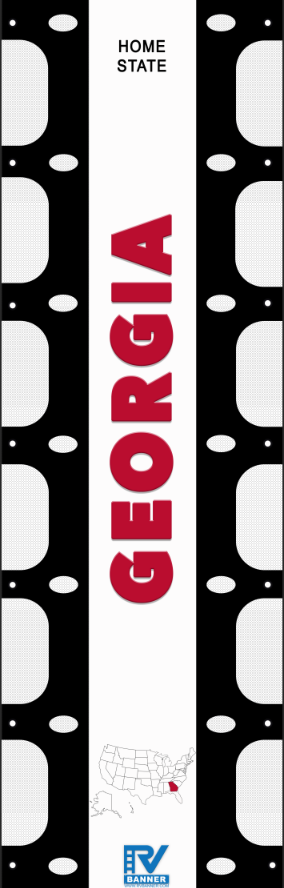 Georgia RV Ladder Banner