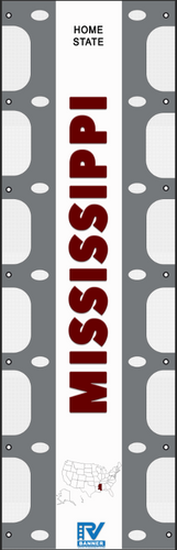 Mississippi RV Ladder Banner