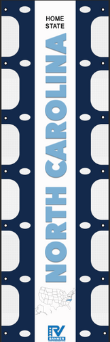 North Carolina RV Ladder Banner