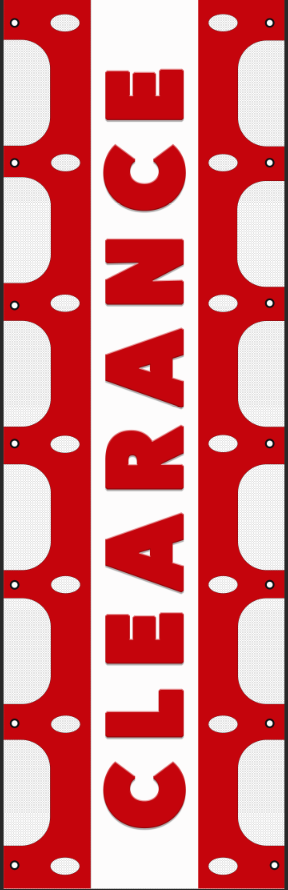 Clearance RV Ladder Banner