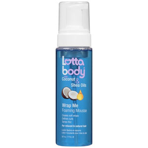 Lotta Body Wrap me Foaming Mousse with Coconut & Shea Oils