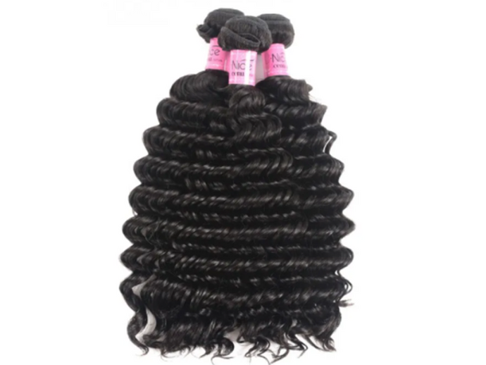 UNice Hair Deep wave Peruvian x 3 Bundles