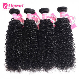 Alipearl Hair Curly Brazilian x 4 Bundles