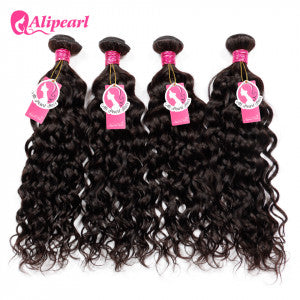 Alipearl Hair Natural Wave Indian x 4 Bundles
