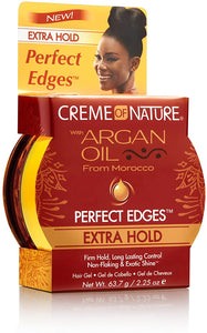 Creme of Nature Argan Perfect Edges Extra Hold