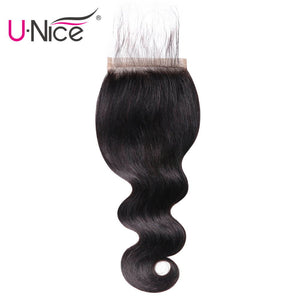 UNice Hair 4 x 4 Indian Closure